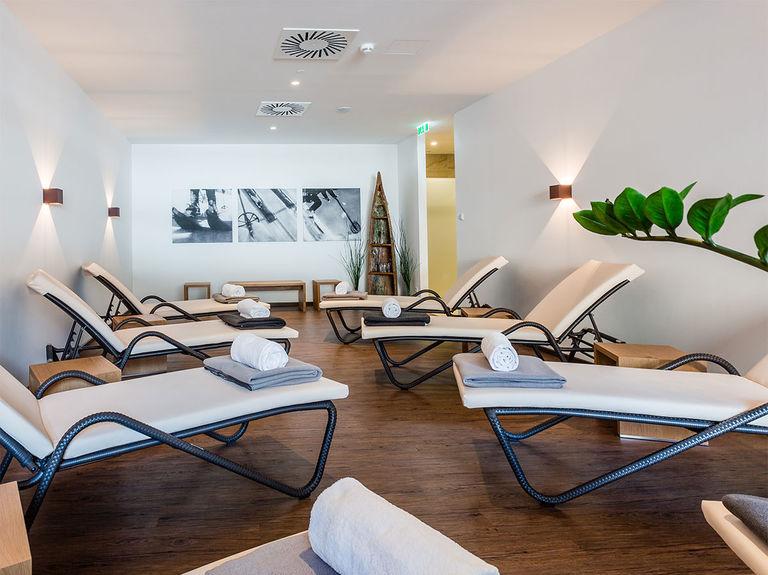Lizum 1600 relaxation room